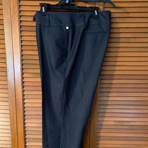 Charcoal heather trousers